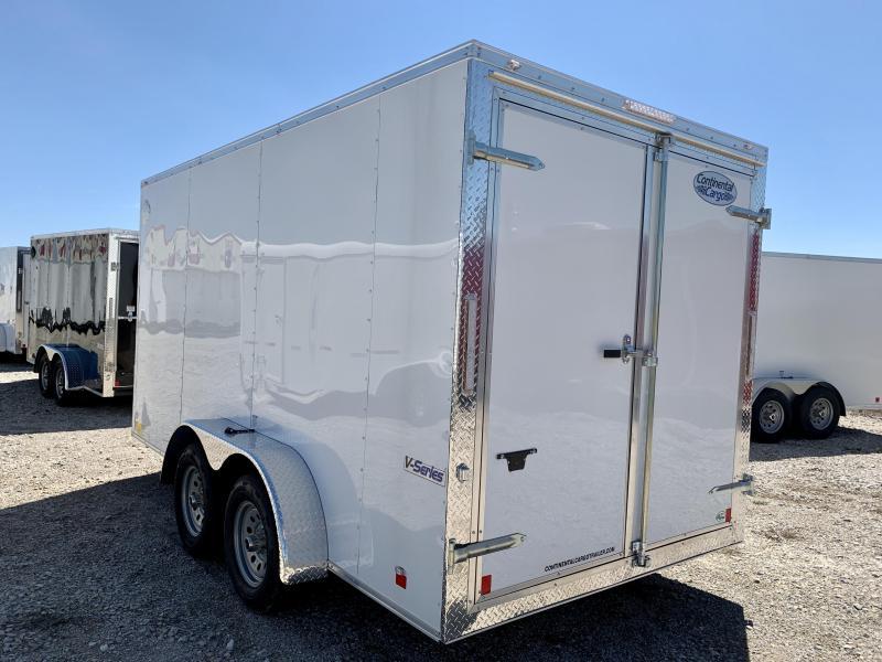 2021 Continental Cargo 7'x14' V-Series Enclosed Cargo Trailer