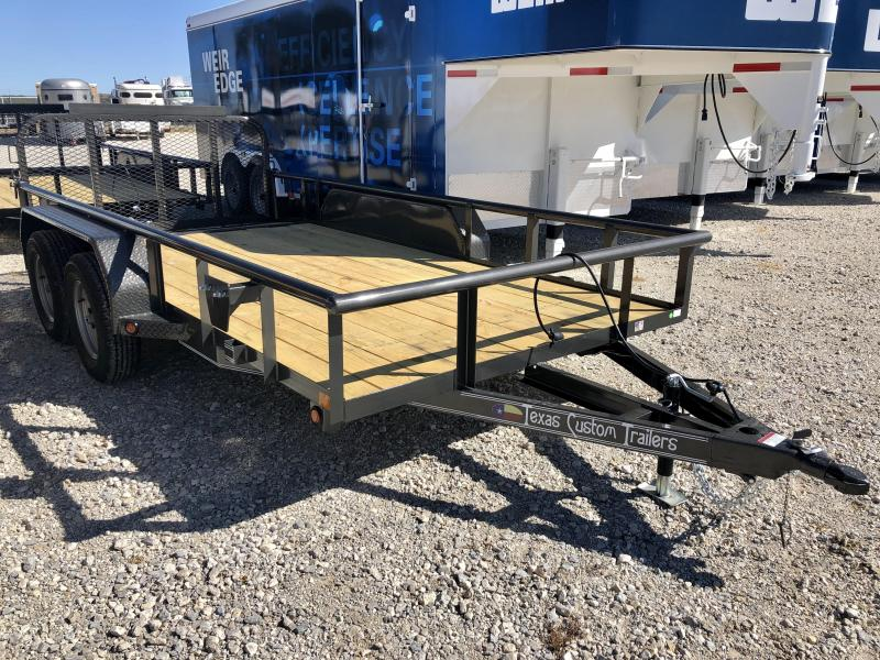 "2020 East Texas 77"" x 14'  7k Utility Trailer"