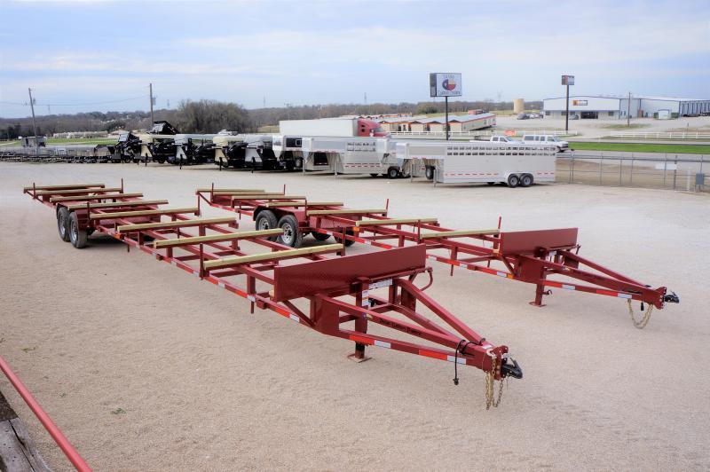 2019 East Texas 32' Poly Pipe Hauling Trailer