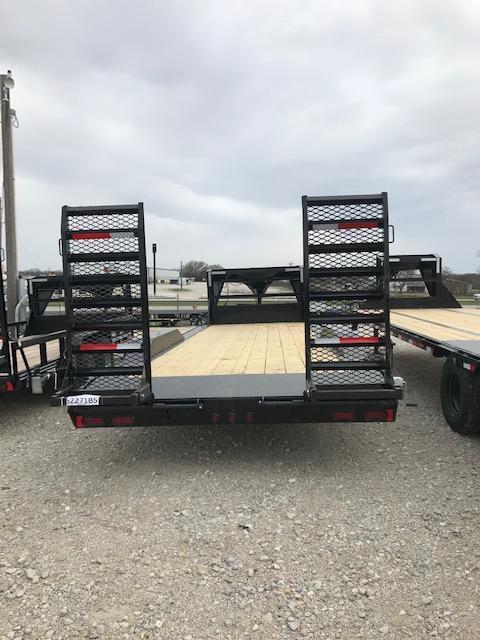 "2020 East Texas 102""X24' Gooseneck Low Boy 16K Equipment Utility Trailer"