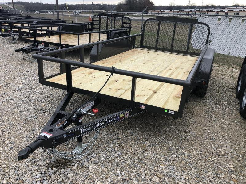 "2020 East Texas 77""X14' 7K Utility Trailer"