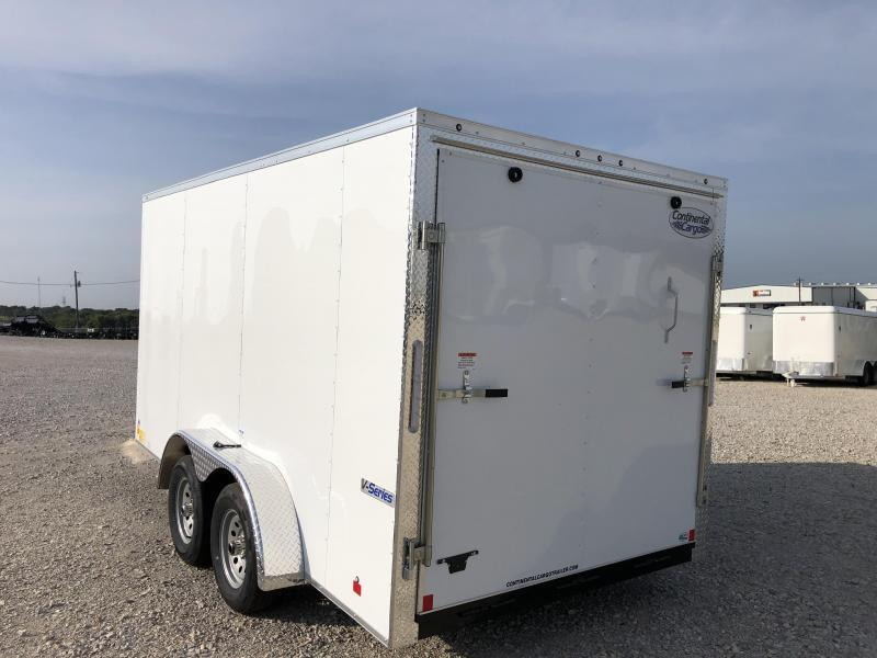 2020 Continental Cargo 7'x14' V-Series Enclosed Cargo Trailer