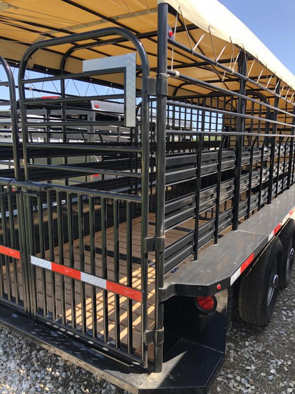 2019 Gooseneck 20X6 Livestock Trailer