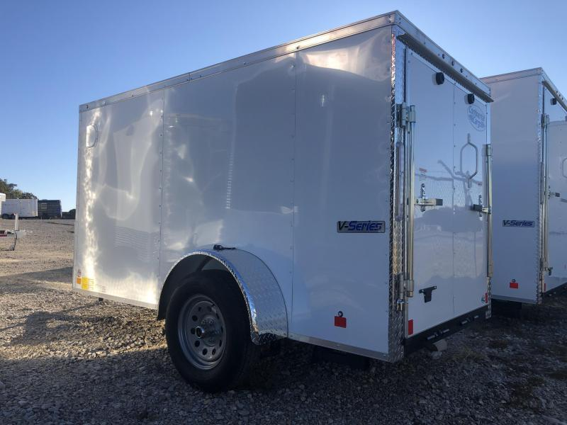 2020 Continental Cargo 5'x10' V-Series Enclosed Cargo Trailer