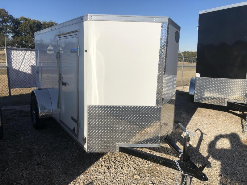 2020 Continental Cargo 5'x10' V-Series Enclosed Cargo Trailer