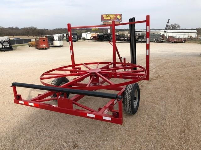 2019 Red River Carrier Poly Pipe Layout Trailer