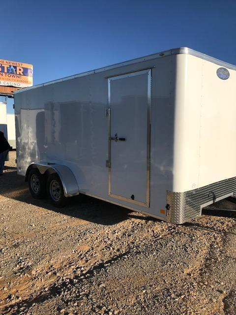 2020 Cargo Mate 7'X16' Enclosed Cargo Trailer