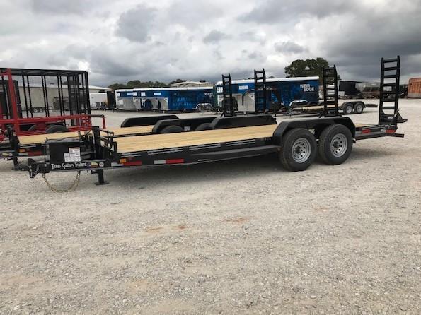 "2020 East Texas 83""x20' Car Hauler/Equipment 14K Trailer"