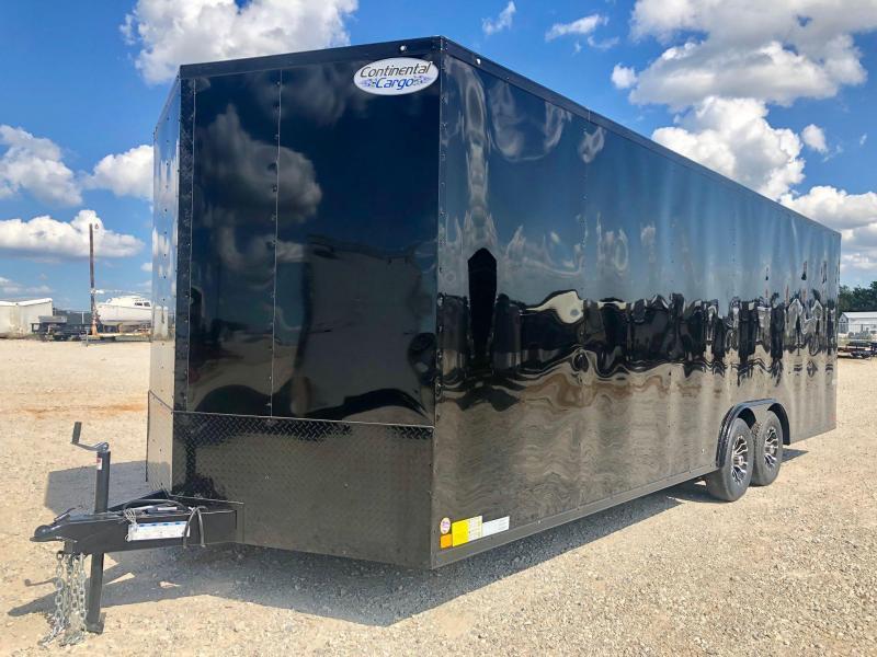 2020 Continental Cargo 8.5'X24' V-Series Enclosed Cargo Trailer