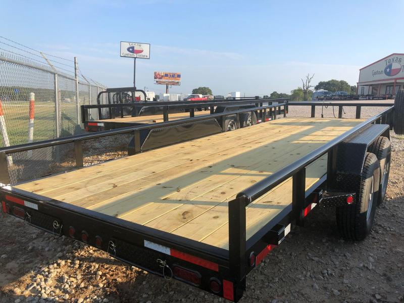 "2020 East Texas 83""X20' Utility 12K Trailer"