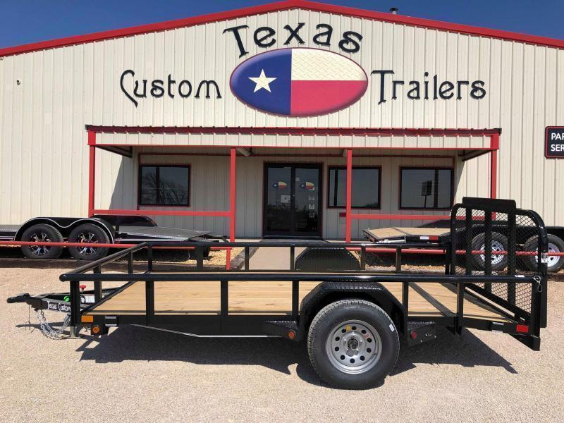 "2020 East Texas 77""X12' Single Axle 3K Utility Trailer"