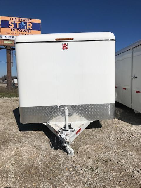 2020 W-W Trailer 16'X6.8' Enclosed Cargo Trailer
