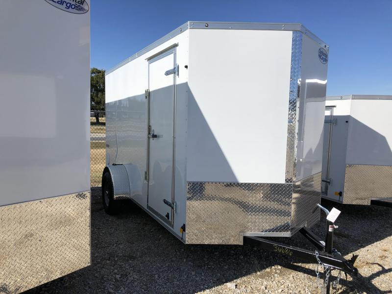 2020 Continental Cargo 6'x12' V-Series Enclosed Cargo Trailer