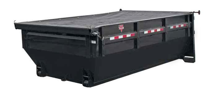 2020 PJ Trailers Rollster Roll-Off Dump BIN ONLY