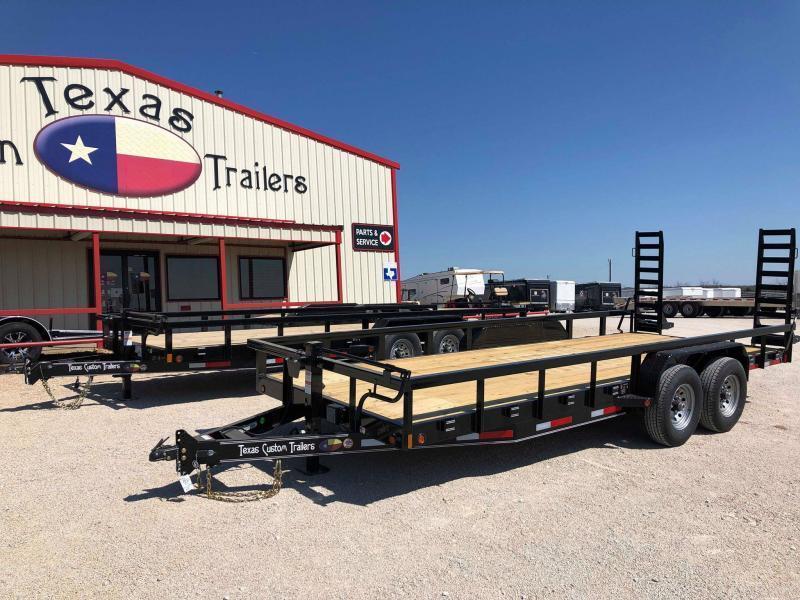 "2020 East Texas 83""X20' Equipment Trailer - 14K"
