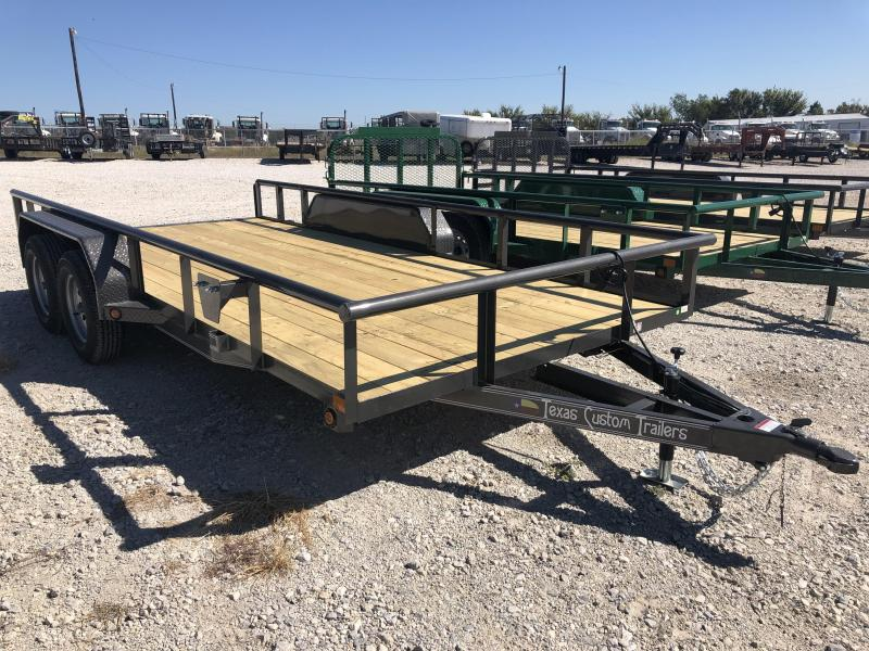"2020 East Texas 83"" X 16' Utility 7k Trailer"