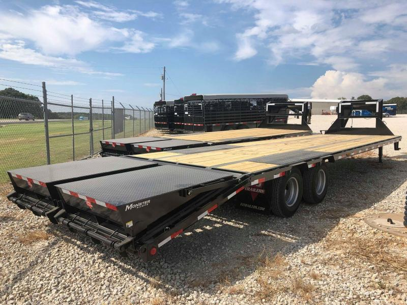 2020 PJ Trailers 32' Low-Pro Flatdeck with Duals Flatbed Trailer