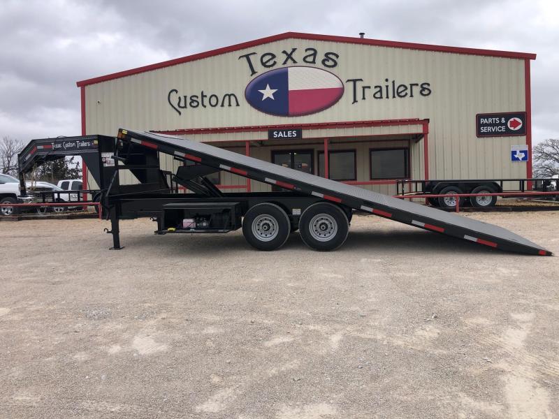 """2020 East Texas 102""""X22' Deck Over Tilt Utility Trailer"""