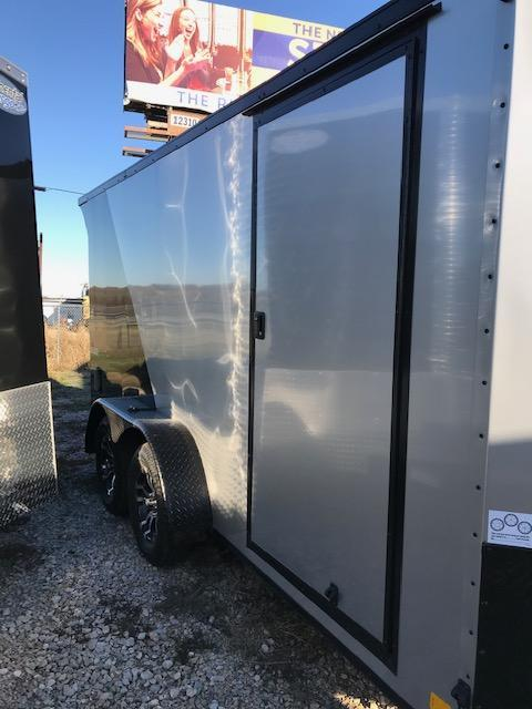 2020 Continental Cargo 7'X14' Tailwind Enclosed Cargo Trailer