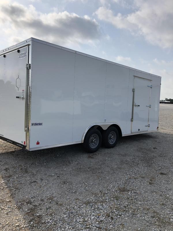 2020 Continental Cargo 8.5X20 Enclosed Cargo Trailer
