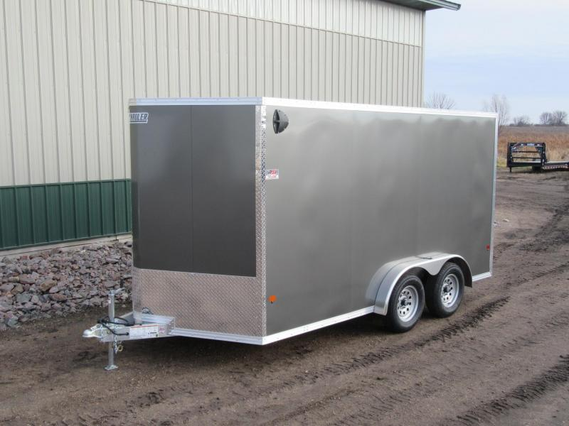 2020 7.5'x14' E-Z Hauler Aluminum Enclosed Trailer