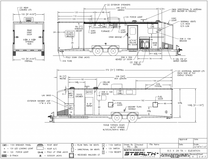 Wiring Diagram For The Curt 4 Pole To 7 Pole Adapter Trailer Brake Wiring Diagram 7 Way 12 Volt Battery Lead Black Or Red furthermore Featherlite Trailer Wiring Diagram further 1993 F150 Trailer Wiring Harness Diagram further 73 Single Axle Trailer Parts Kit 3 500lbs Gvwr further 397. on 7 pin wiring diagram trailer plug