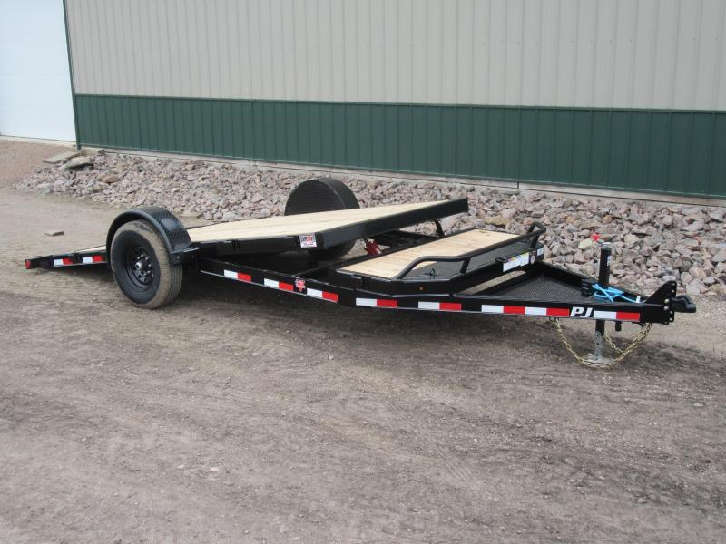 2020 PJ 16' Single Axle HD Tilt Trailer