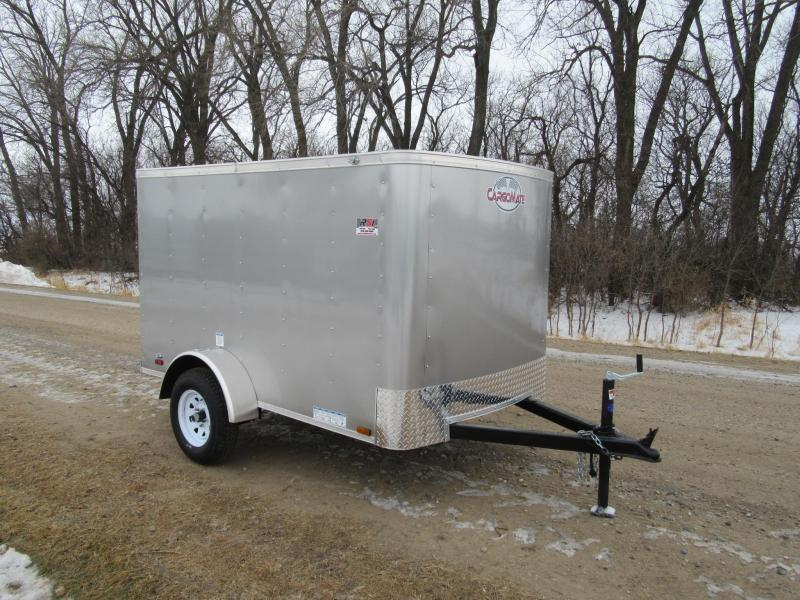 2020 5'x8' Cargo Mate Enclosed Trailer