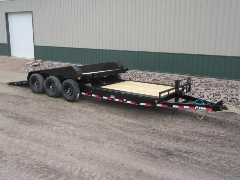 "2020 PJ 24' HD 6"" Channel Equipment Tilt Trailer"