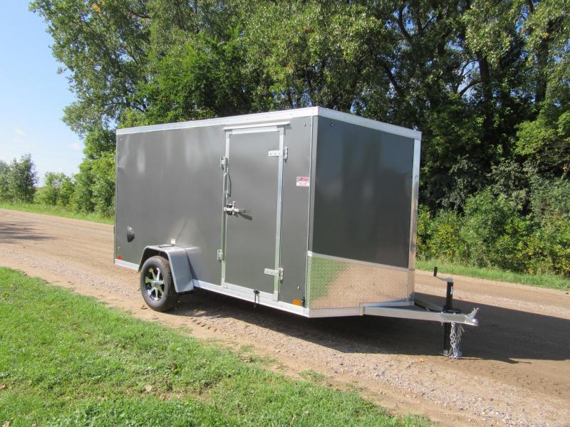 2020 Discovery 6'x12' Aluminum Enclosed Trailer