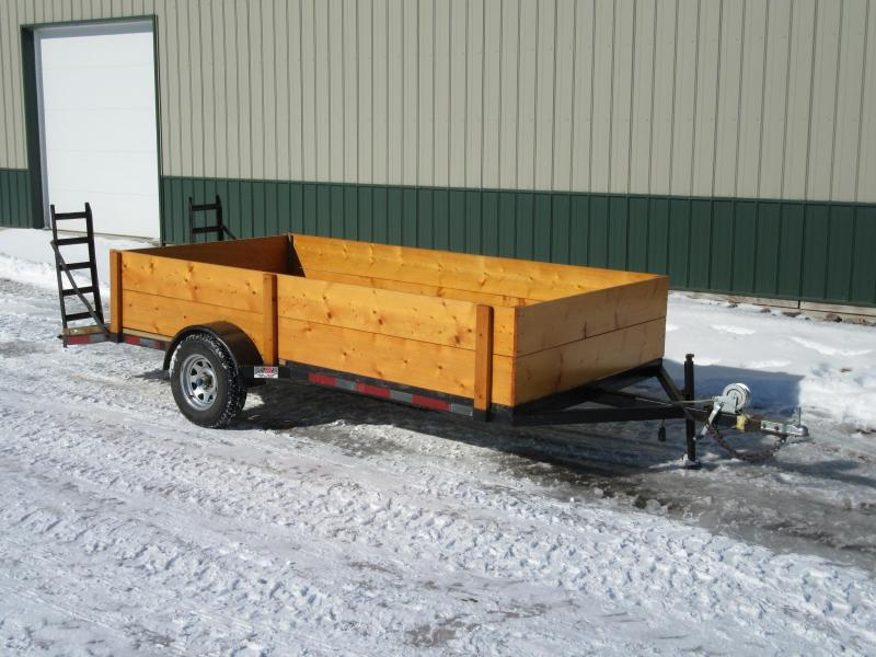 2004 Homemade 6'x14' Utility Trailer