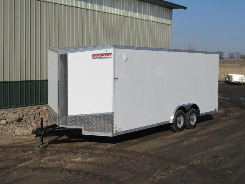 2021 8.5'X20' Discovery10k Enclosed Trailer
