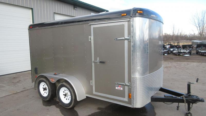 2003 Cargo King 6'x12' Enclosed Tandem Axle Trailer 1 Owner