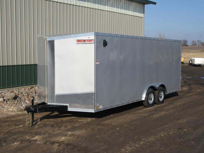 2021 8.5'X20' Discovery 10k Enclosed Trailer