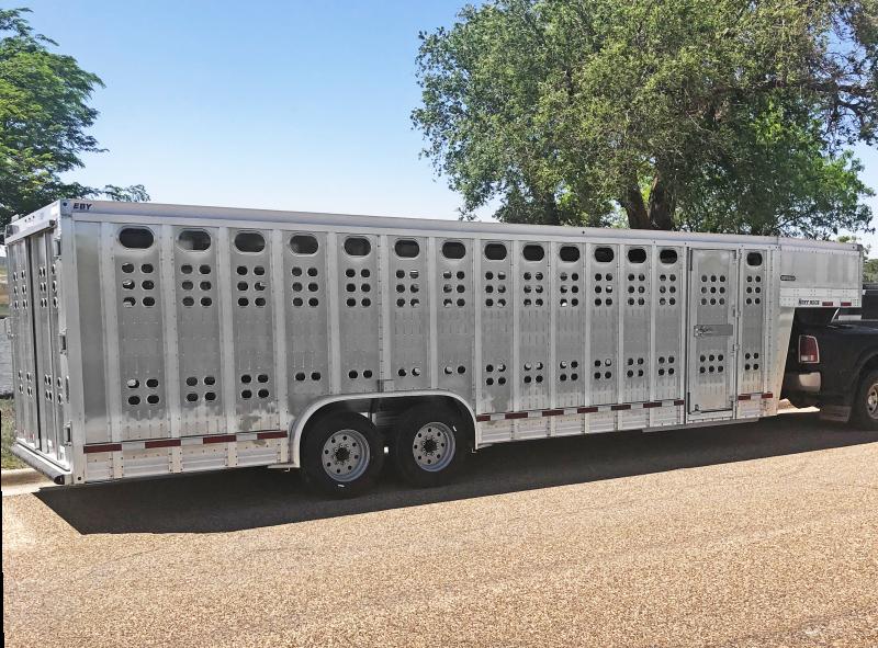 2020 EBY Ruff Neck 26' Livestock Trailer