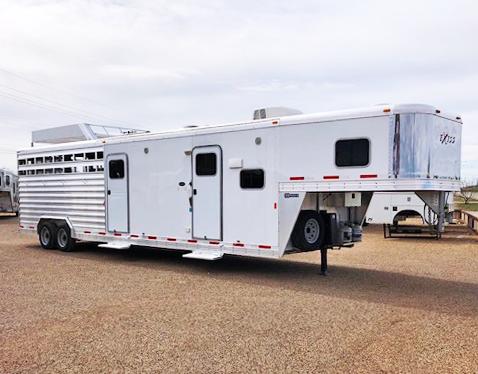 2016 Exiss Trailers Living Quarter Horse Trailers Livestock Trailer