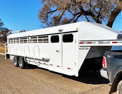 2020 Delco Trailers STOCK TRAILERS Livestock Trailer