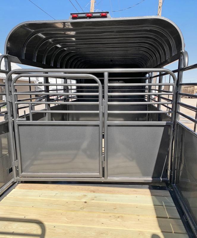 2019 Delco 24 ft Premium Livestock Trailer