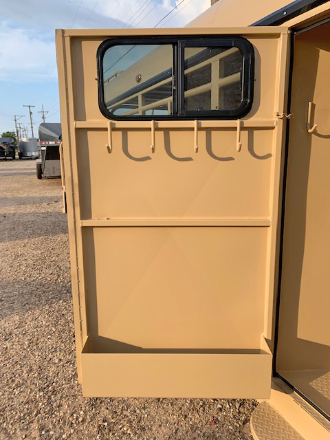 2020 Gold Delco 24' Stock Trailer