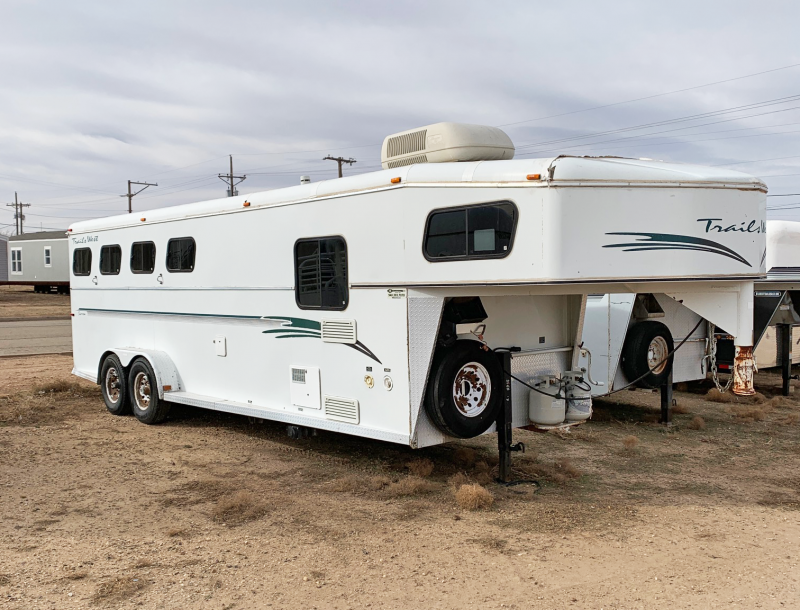 1999 Trails West 4 Horse Living Quarters Trailer