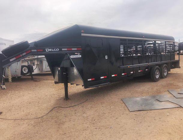 2018 Delco 24' Stock Trailer