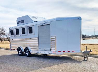 2020 4-Star 4 Horse Smart Tack Horse Trailer