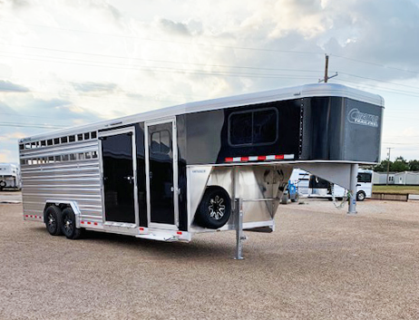 2020 Cimarron 24' Black Stock Combo Trailer