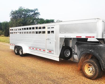 2019 EBY Stock Trailer Livestock Trailer