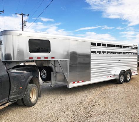 2020 Cimarron Trailers STOCK TRAILERS Livestock Trailer