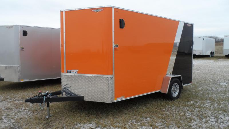 2019 H & H Trailers Cargo Enclosed Cargo Trailer  (Hail damage call for pricing.)