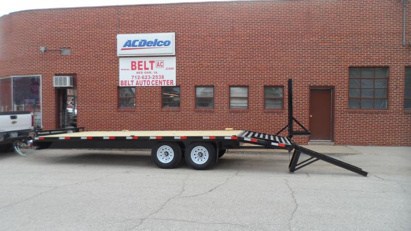 2019 H and H Trailer 102X18 4FT DOVE 14K STANDARD DUTY DECKOV