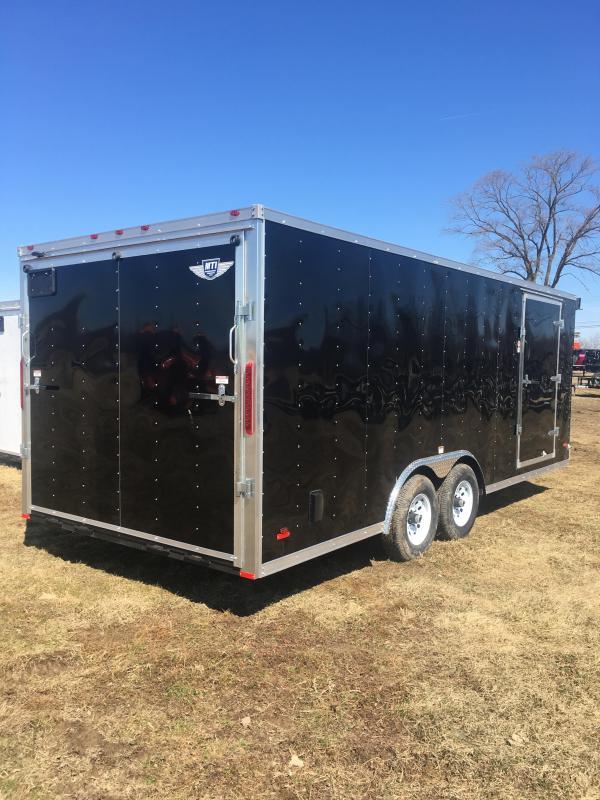 2019 RC Trailers RC20CARHAULER Enclosed Cargo Trailer