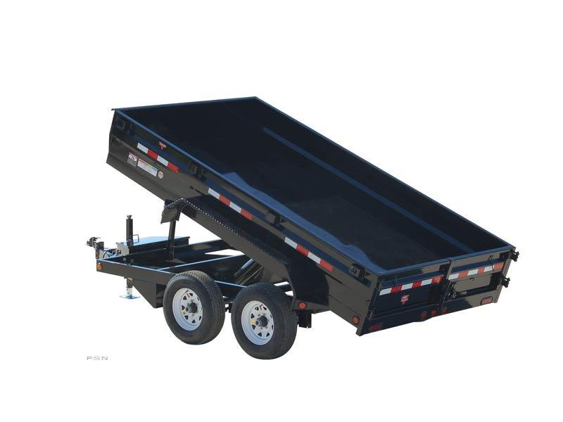 2019 PJ Trailers 78 in. Medium Duty Dump (D2) Dump Trailer