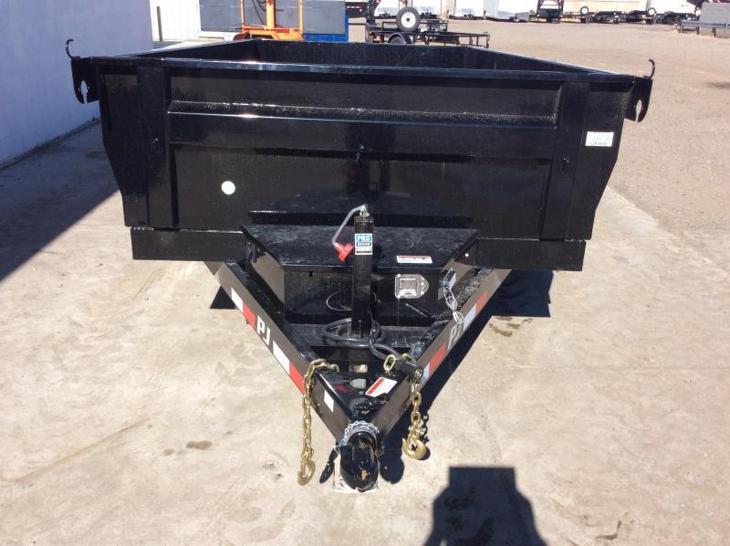 2019 PJ Trailers 96 in. Deckover Dump (D8) Material Handling